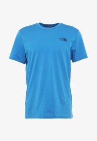 The North Face - MENS SIMPLE DOME TEE - Basic T-shirt - bomber blue - 6