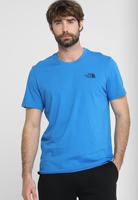 The North Face - MENS SIMPLE DOME TEE - Basic T-shirt - bomber blue - 0
