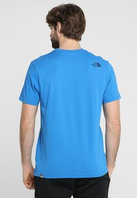 The North Face - MENS SIMPLE DOME TEE - Basic T-shirt - bomber blue - 2
