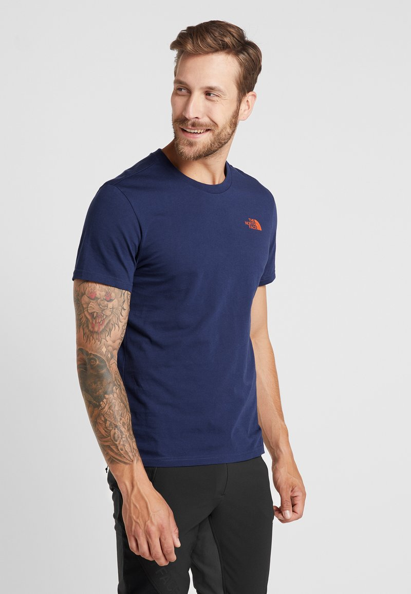 The North Face - MENS SIMPLE DOME TEE - T-shirt - bas - montague blue