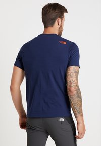 The North Face - MENS SIMPLE DOME TEE - T-shirt - bas - montague blue - 2
