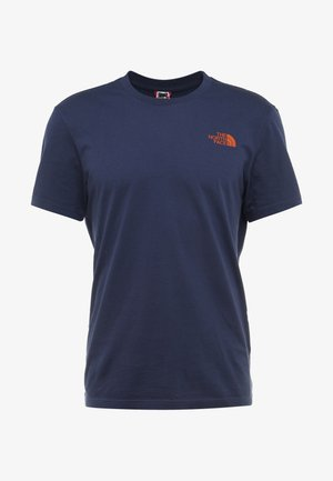 SIMPLE DOME TEE - T-shirt basic - montague blue