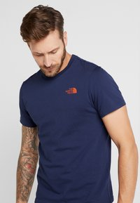 The North Face - MENS SIMPLE DOME TEE - T-shirt - bas - montague blue - 3
