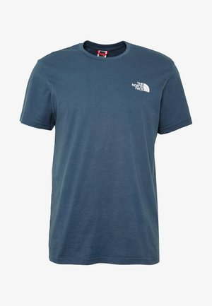 MENS SIMPLE DOME TEE - T-shirts - blue wing teal