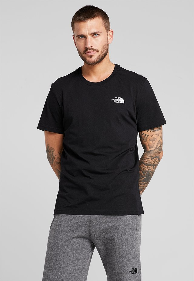 MENS SIMPLE DOME TEE - T-shirt basic - black