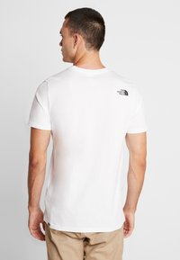 The North Face - MEN'S EASY TEE - T-shirt print - white/britsh khaki - 2