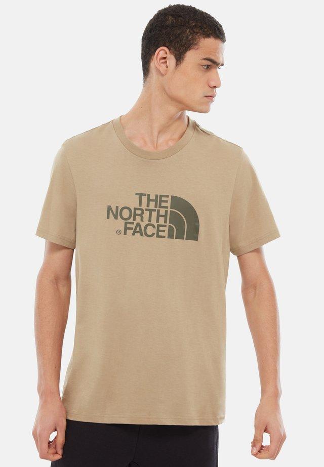 MEN'S EASY TEE - Camiseta estampada - kelp tan