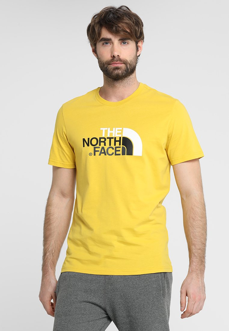 The North Face - EASY TEE - Print T-shirt - marigold yellow