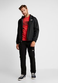 The North Face - MEN'S EASY TEE - T-Shirt print - red/black - 1