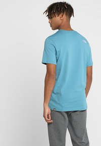 The North Face - MEN'S EASY TEE - T-Shirt print - storm blue - 2