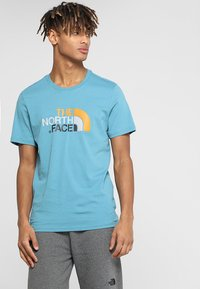 The North Face - MEN'S EASY TEE - T-Shirt print - storm blue - 0