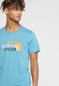 The North Face - MEN'S EASY TEE - T-Shirt print - storm blue - 3