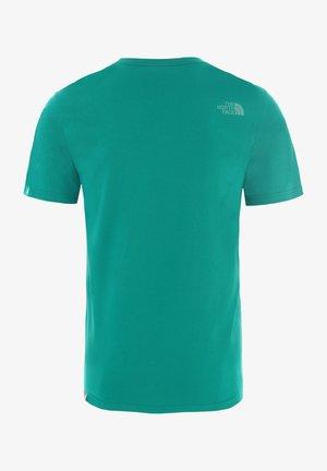 MEN'S EASY TEE - T-shirt imprimé - fanfare green