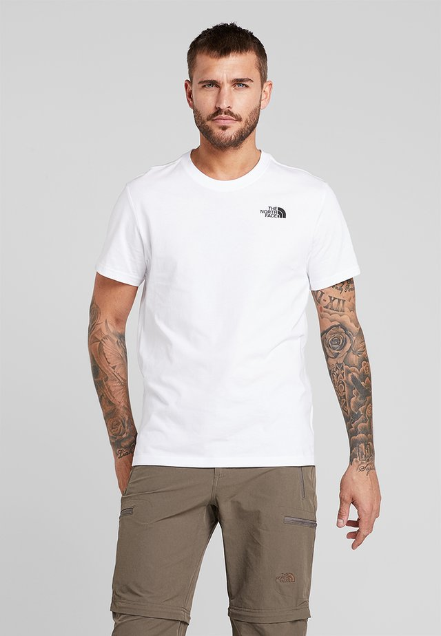 MEN'S REDBOX TEE - Print T-shirt - white