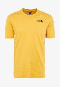 The North Face - MEN'S REDBOX TEE - T-shirt z nadrukiem - yellow/black - 5