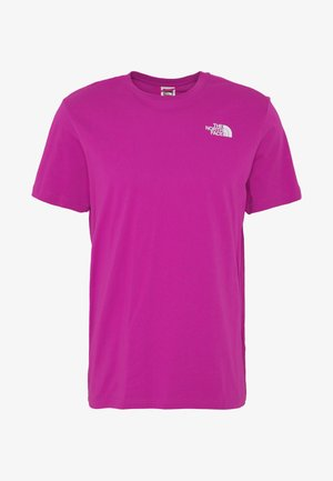 MEN'S REDBOX TEE - T-shirt imprimé - wild aster purple