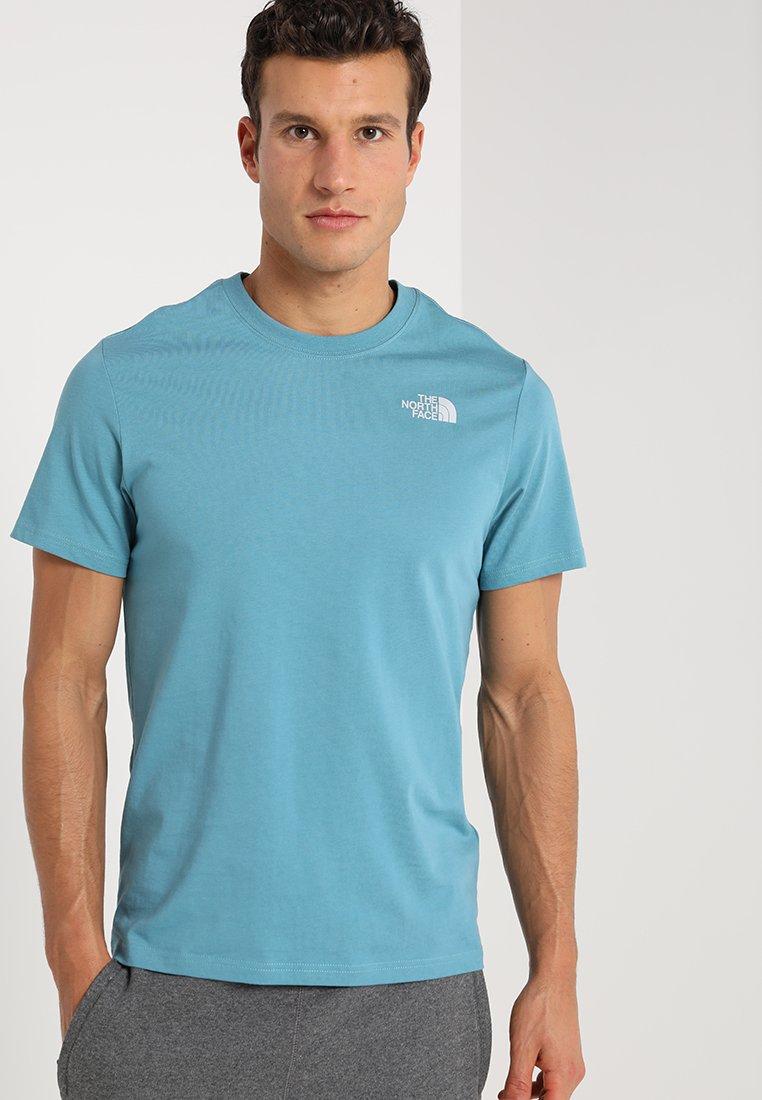 The North Face - RED BOX TEE - Camiseta estampada - storm blue