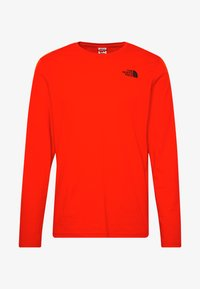 The North Face - Langærmede T-shirts - fiery red - 5