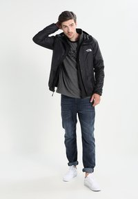 The North Face - RAGLAN EASY TEE  - T-shirt print - mottled grey/black - 1