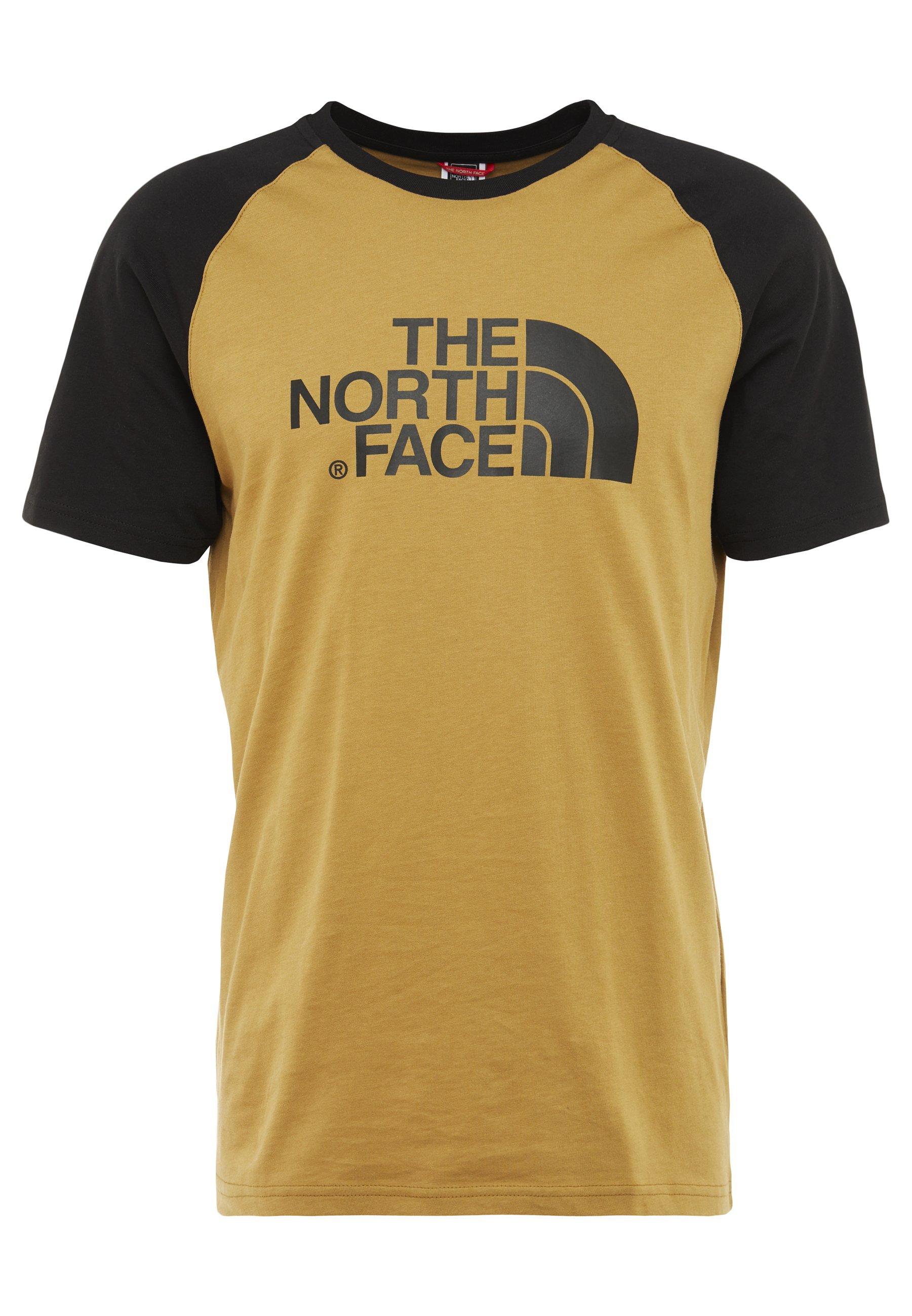 The North Face RAGLAN EASY TEE - T-shirt con stampa - british khaki