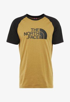 RAGLAN EASY TEE  - T-shirts print - british khaki