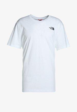 CELEBRATION TEE - T-shirt z nadrukiem - wh/navy