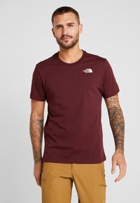 The North Face - CELEBRATION TEE - T-shirt print - deep garnet red - 0