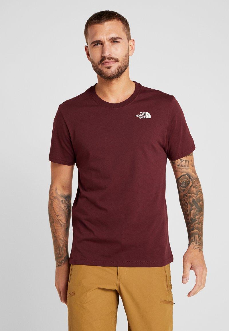 The North Face - CEL TEE - Print T-shirt - deep garnet red
