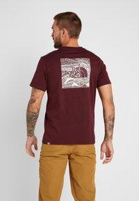The North Face - CELEBRATION TEE - T-shirt print - deep garnet red - 2