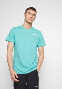 The North Face - CELEBRATION TEE - T-Shirt print - lagoon - 0