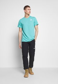 The North Face - CELEBRATION TEE - T-Shirt print - lagoon - 1