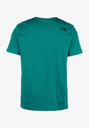 T-shirt print - fanfare green