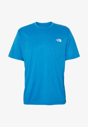 MENS REAXION AMP CREW - T-shirt basic - clear lake blue heather