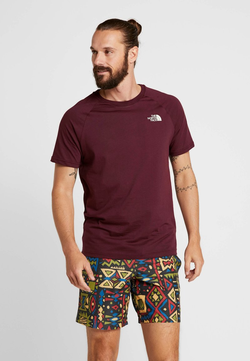 The North Face - TEE - T-shirt print - deep garnet red