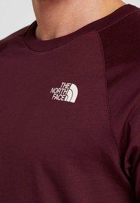 The North Face - TEE - T-shirt print - deep garnet red - 3