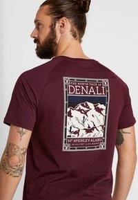 The North Face - TEE - T-shirt print - deep garnet red - 5