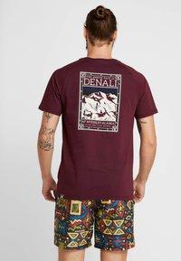 The North Face - TEE - T-shirt print - deep garnet red - 2
