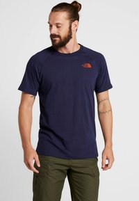The North Face - TEE - T-shirt z nadrukiem - montague blue - 0
