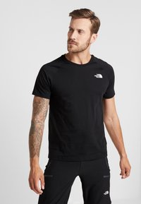 The North Face - TEE - T-shirt print - black - 0