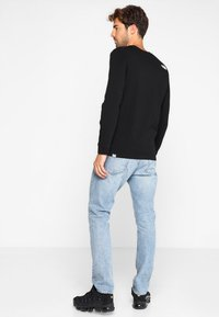 The North Face - SIMPLE DOME - Long sleeved top - black - 2