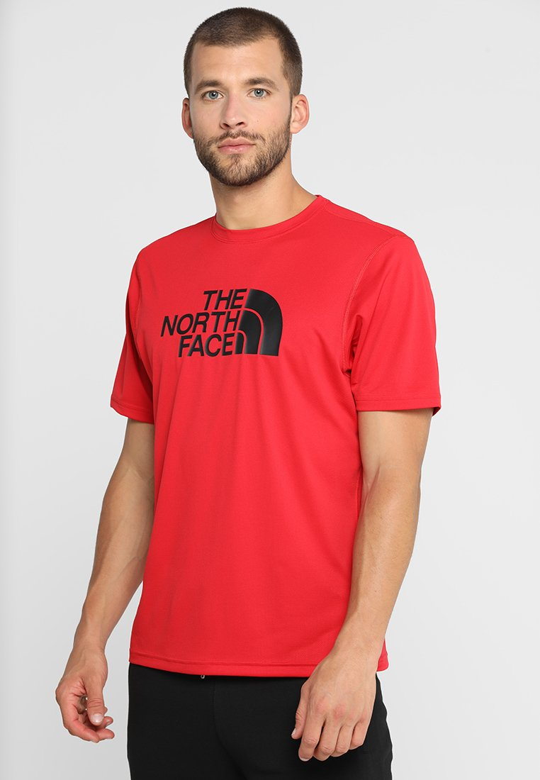 The North Face - FLEX BOMBER - Print T-shirt - red