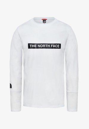 LIGHT TEE - T-shirt à manches longues - white
