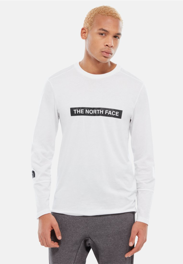 The North Face - M L/S LIGHT TEE - Bluzka z długim rękawem - white