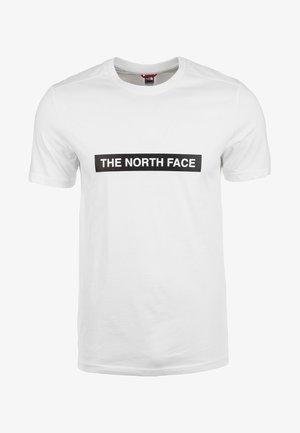 M S/S LIGHT TEE - Print T-shirt - white