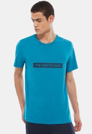 M S/S LIGHT TEE - T-shirt imprimé - light blue