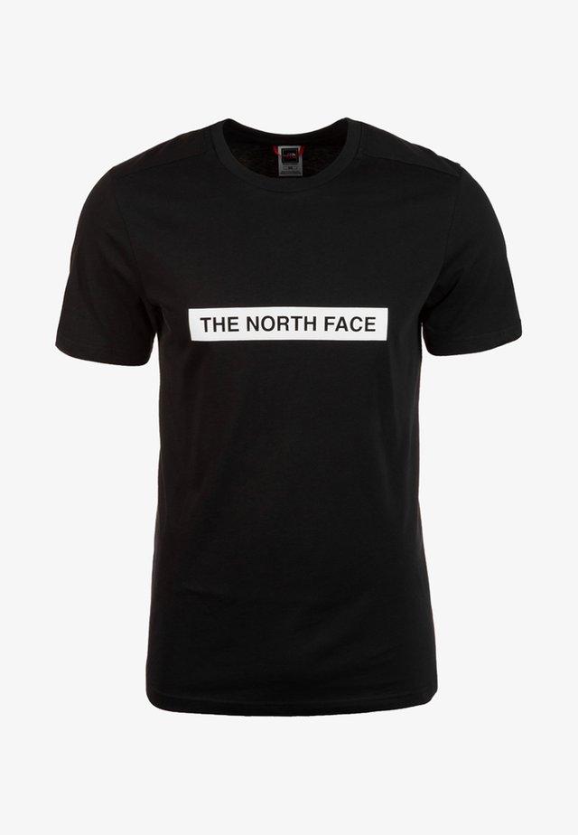 M S/S LIGHT TEE - T-shirts print - black
