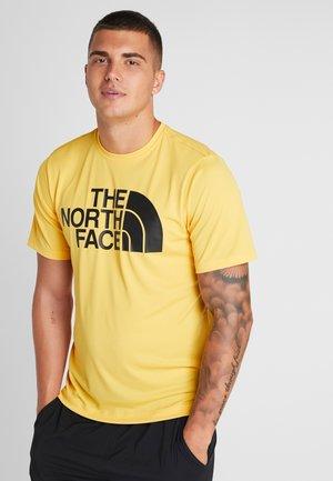 FLEX BIG LOGO  - T-shirt imprimé - yellow/black