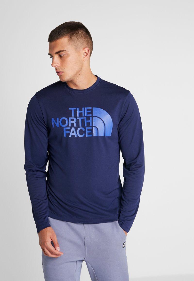 The North Face - FLEX BIG LOGO  - Funktionsshirt - dark blue