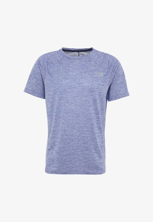 AMBITION  - T-shirt con stampa - blue/montague blue