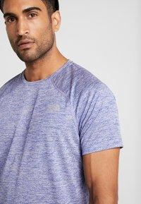 The North Face - AMBITION  - T-shirt print - blue/montague blue - 3